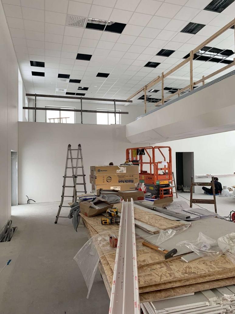 GSV Hedehusenes lokaler under renovering