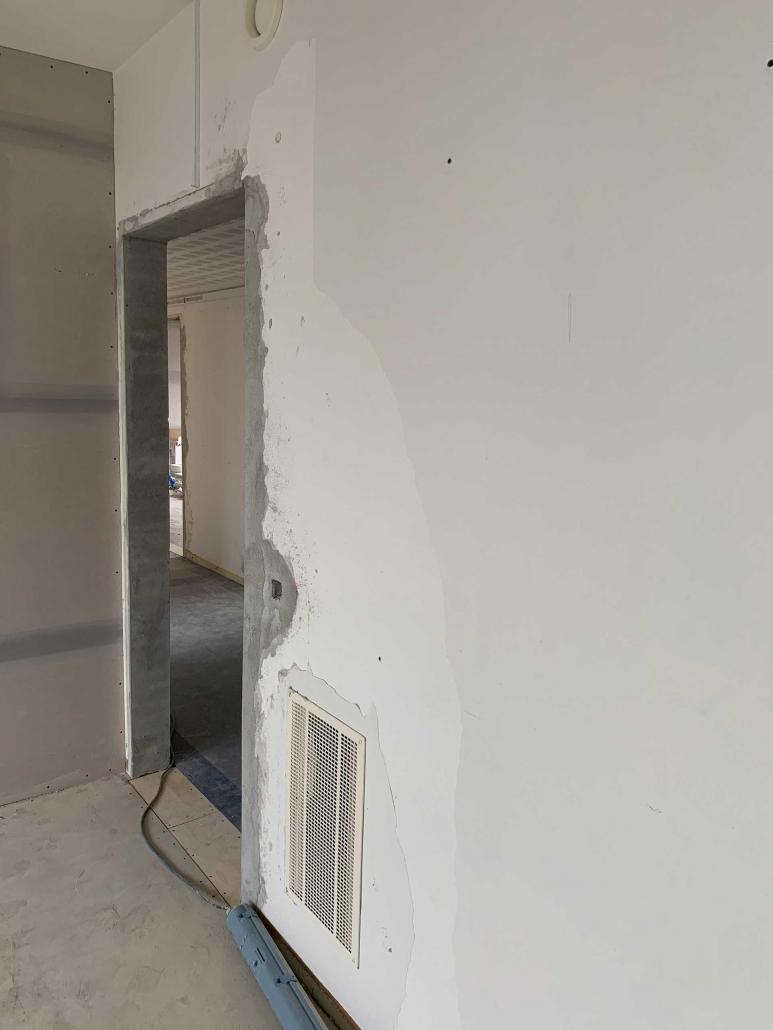 Væg renovering